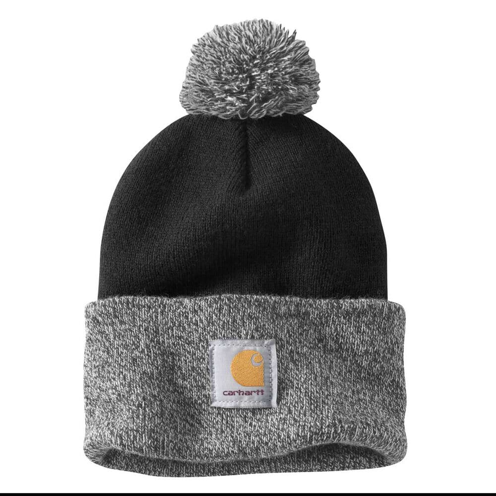 best winter hats for hiking - carhartt lookout acrylic pom pom beanie PC Gander Outdoors