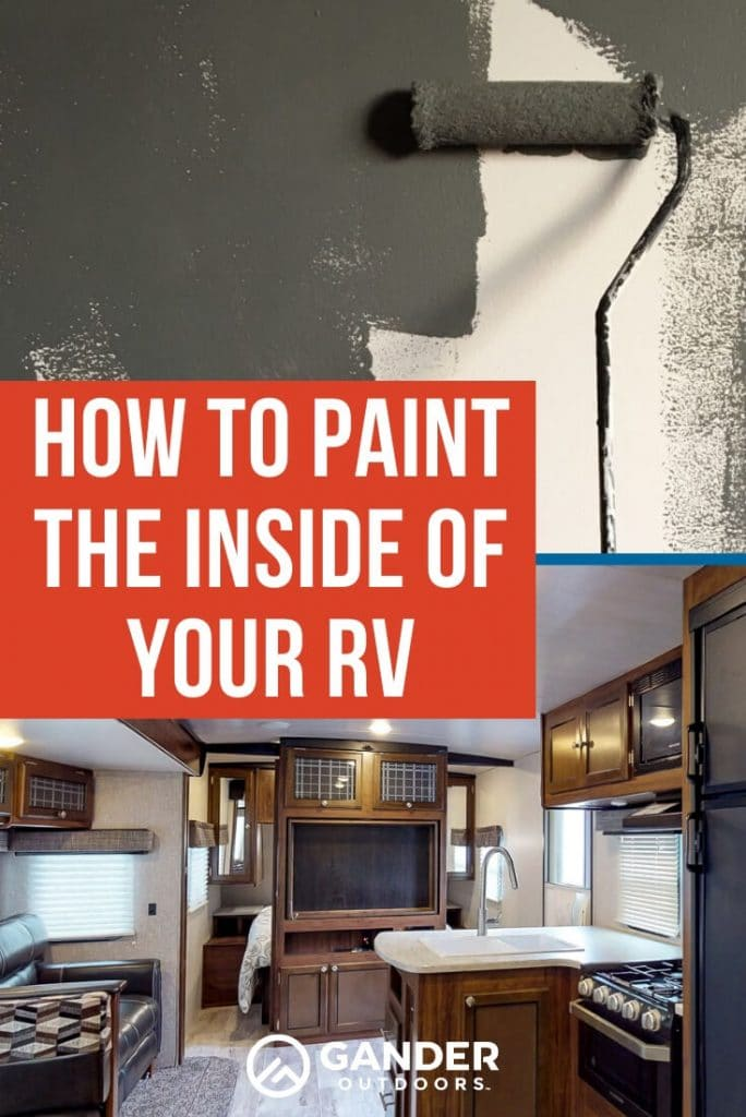 How to paint the inside of your RV