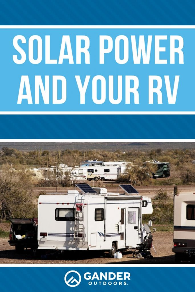 Solar power and your RV
