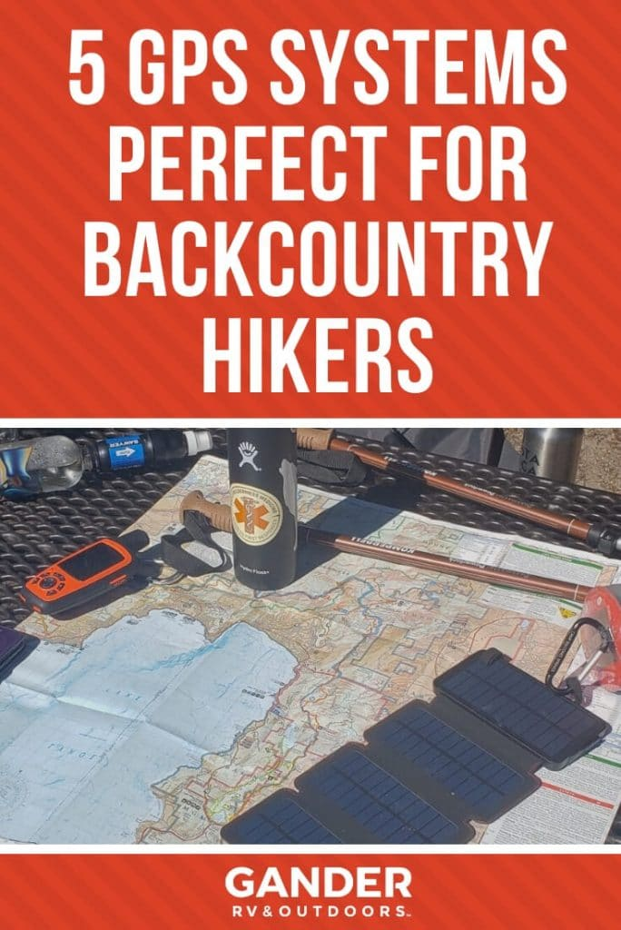 5 GPS systems perfect for backcountry hikers
