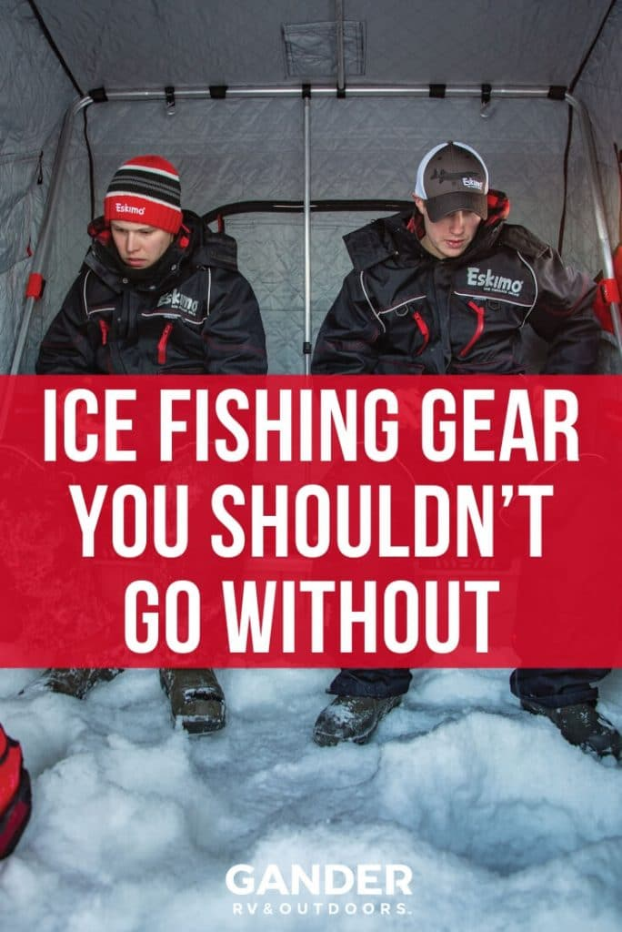 Ice fishing gear you shouldn't go without
