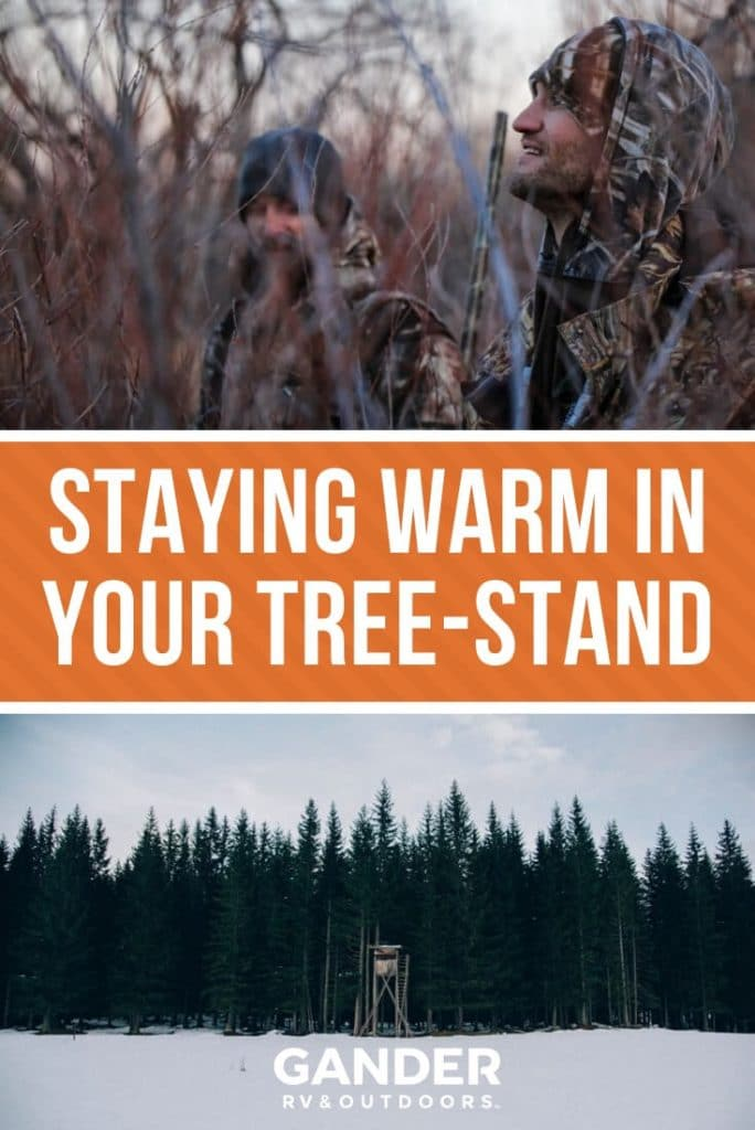 Staying warm in your tree stand