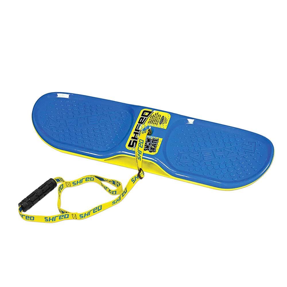 Blue Airhead snow skate