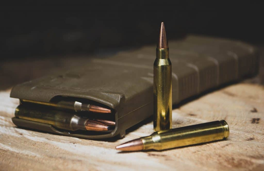 deer rifle ammo caliber in magazine
