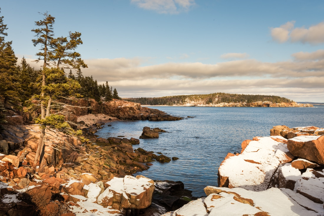 national parks perfect for winter hiking trips - acadia national park PC James Duckworth via Flickr