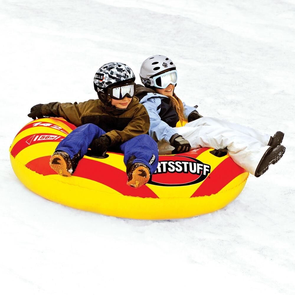 Why a Snow Tube Can Make More Sense Than a Sled - sportsstuff air flyer PC Camping World