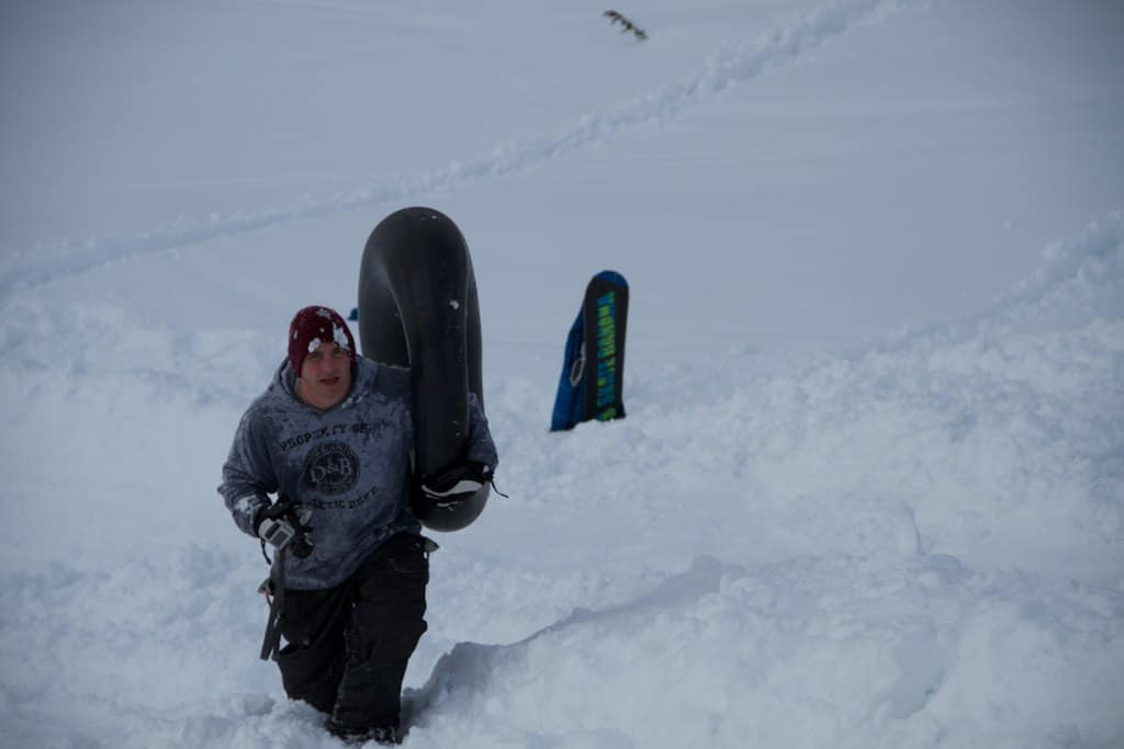 why a snow tube can make more sense than a sled - better in powder PC JGS Concepts via Flickr