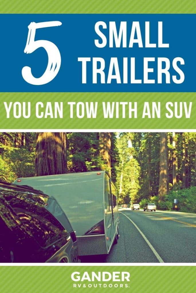 5 Small travel trailers you can tow with an SUV