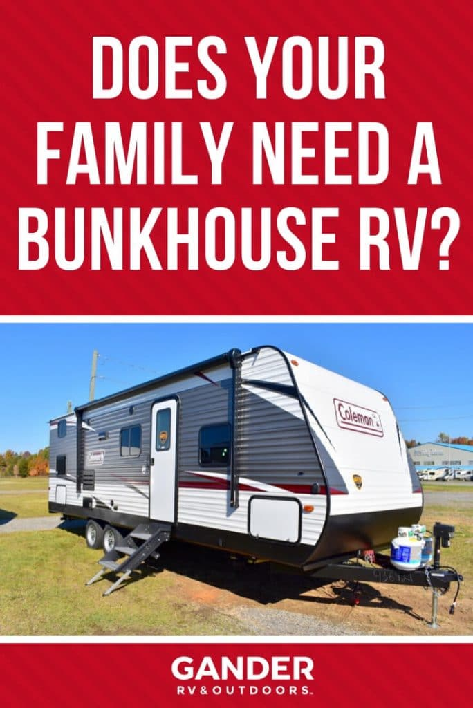 Does your family really need a bunkhouse RV?