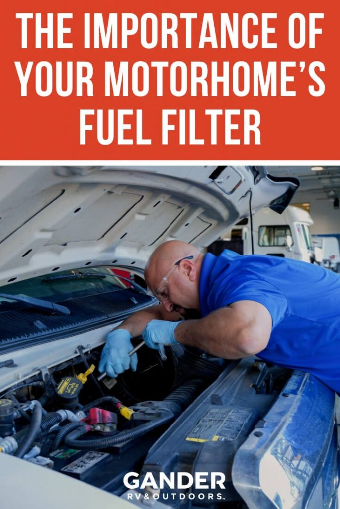 The importance of your motorhome's fuel filter