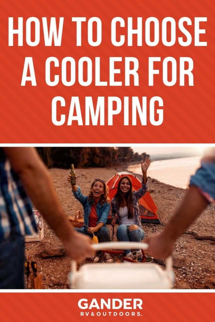 How to choose a cooler for camping
