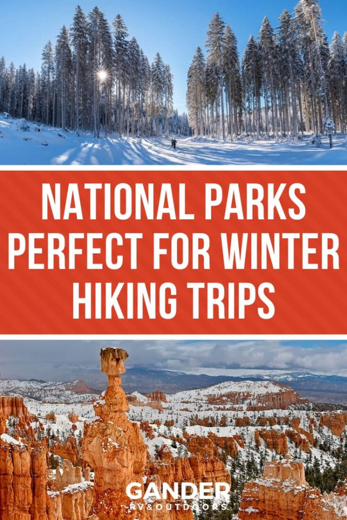 National parks perfect for winter hiking trips