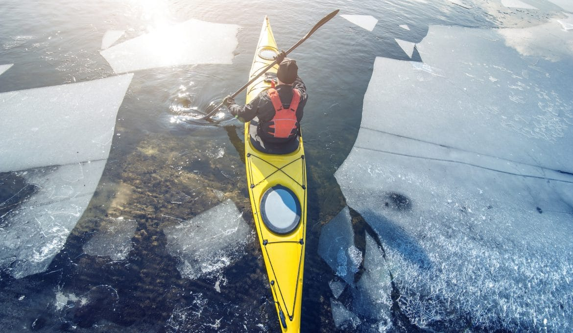 Yes, You Can and Should Kayak in the Winter
