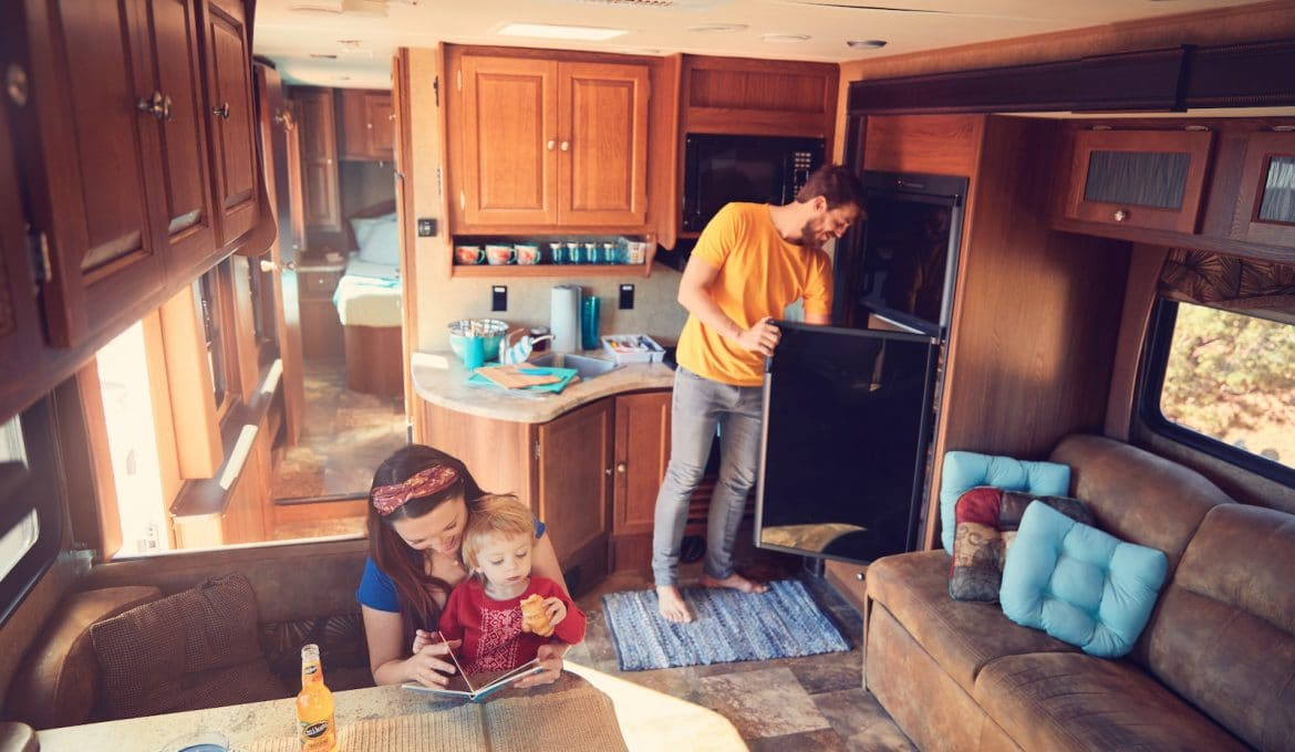 Stocking Your RV's Pantry for a Long Trip