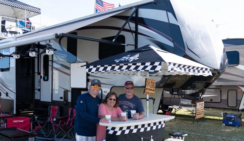 Tailgating at NASCAR