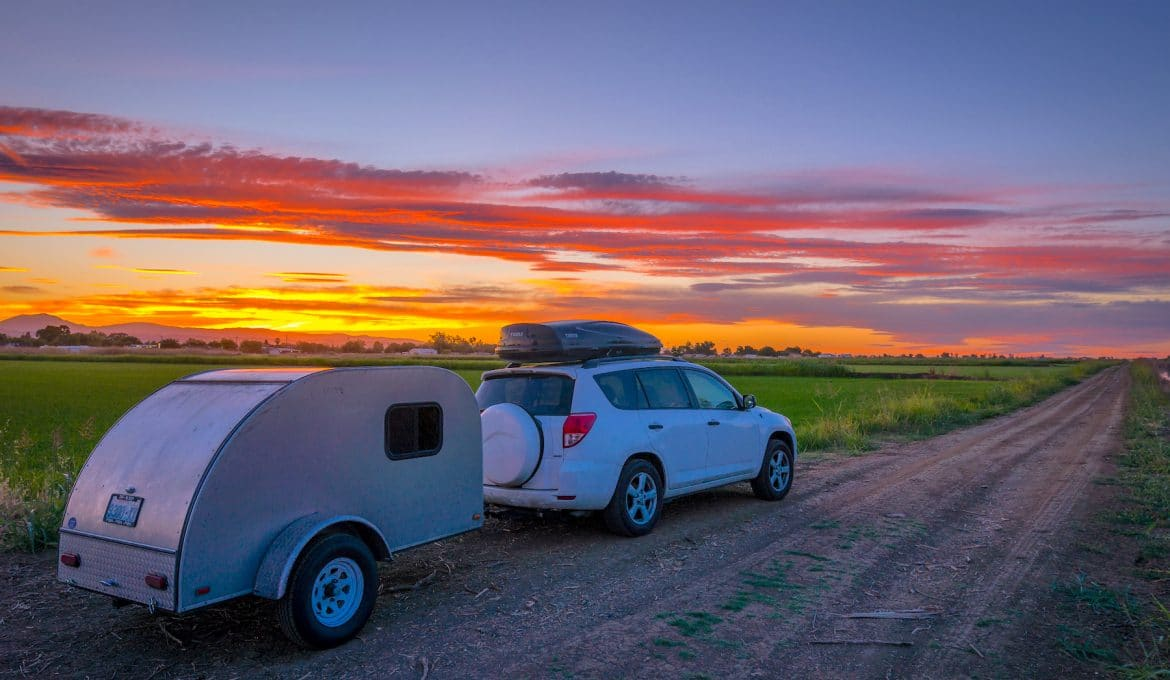 Driving from Coast California with a teardrop camper