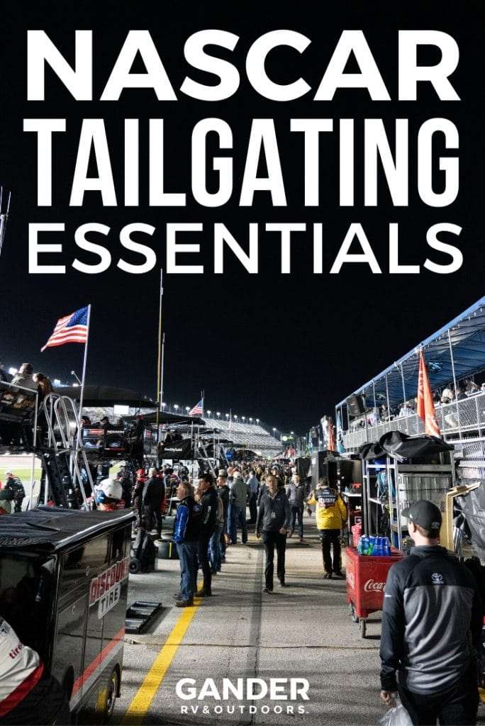NASCAR tailgating essentials