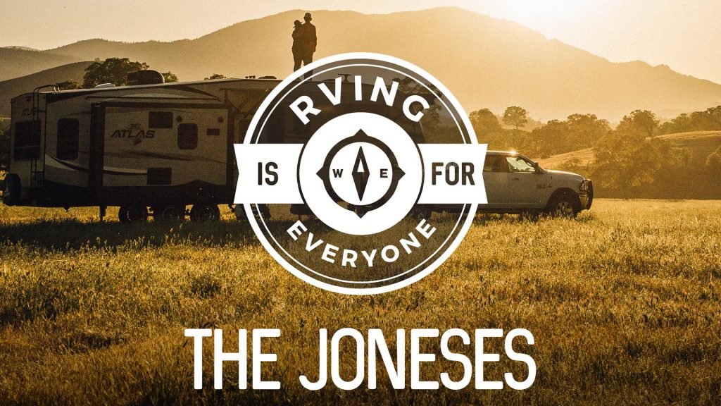 the joneses rving is for everyone