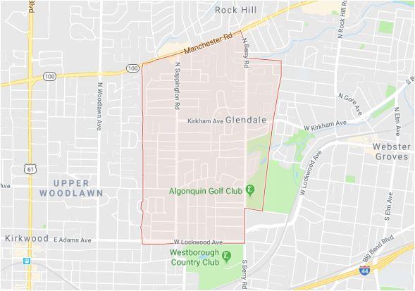 Glendale Map