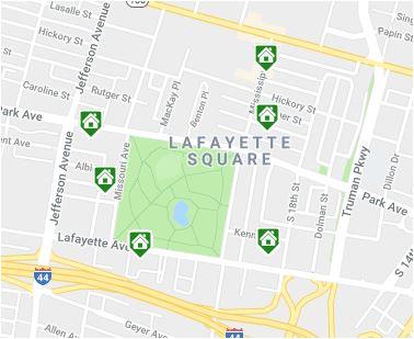 Lafayette Square Map