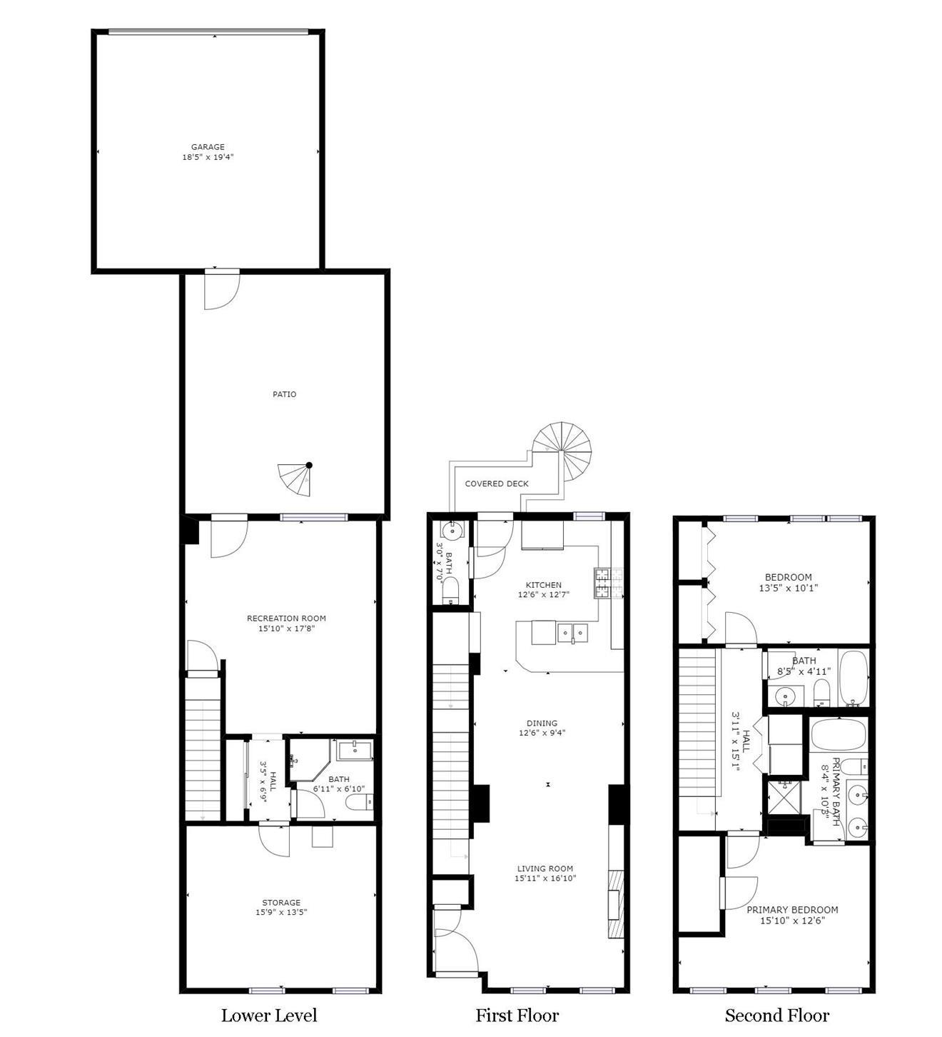 1009 Mississippi Floorplan