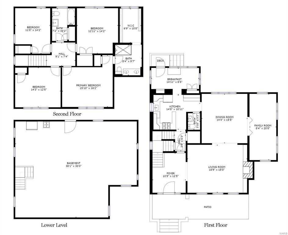 4025 Flora Floorplan