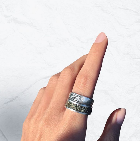 Al Sheikh uses her jewellery line as a method of expression
