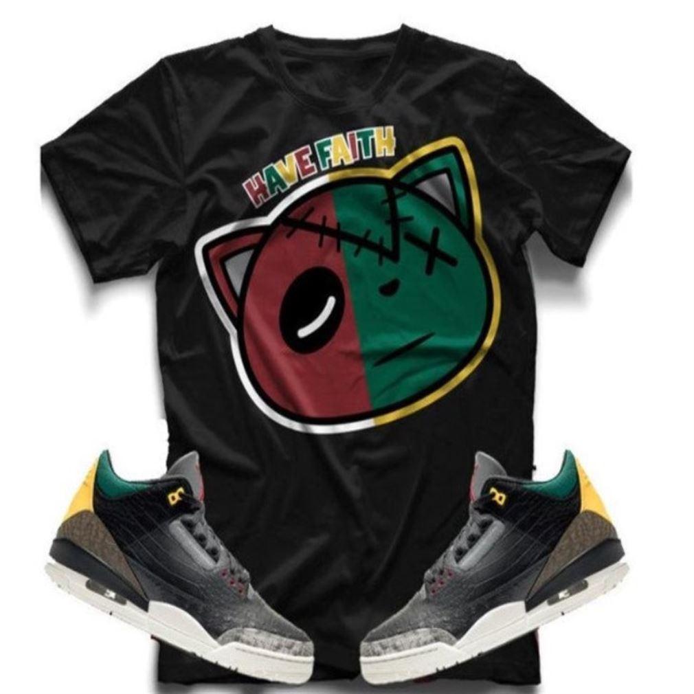 The Bees Knees Tee Shirt Air Jordan 3 Retro Se Animal Instinct Sneaker Tee All Over Print Tee So Incredible