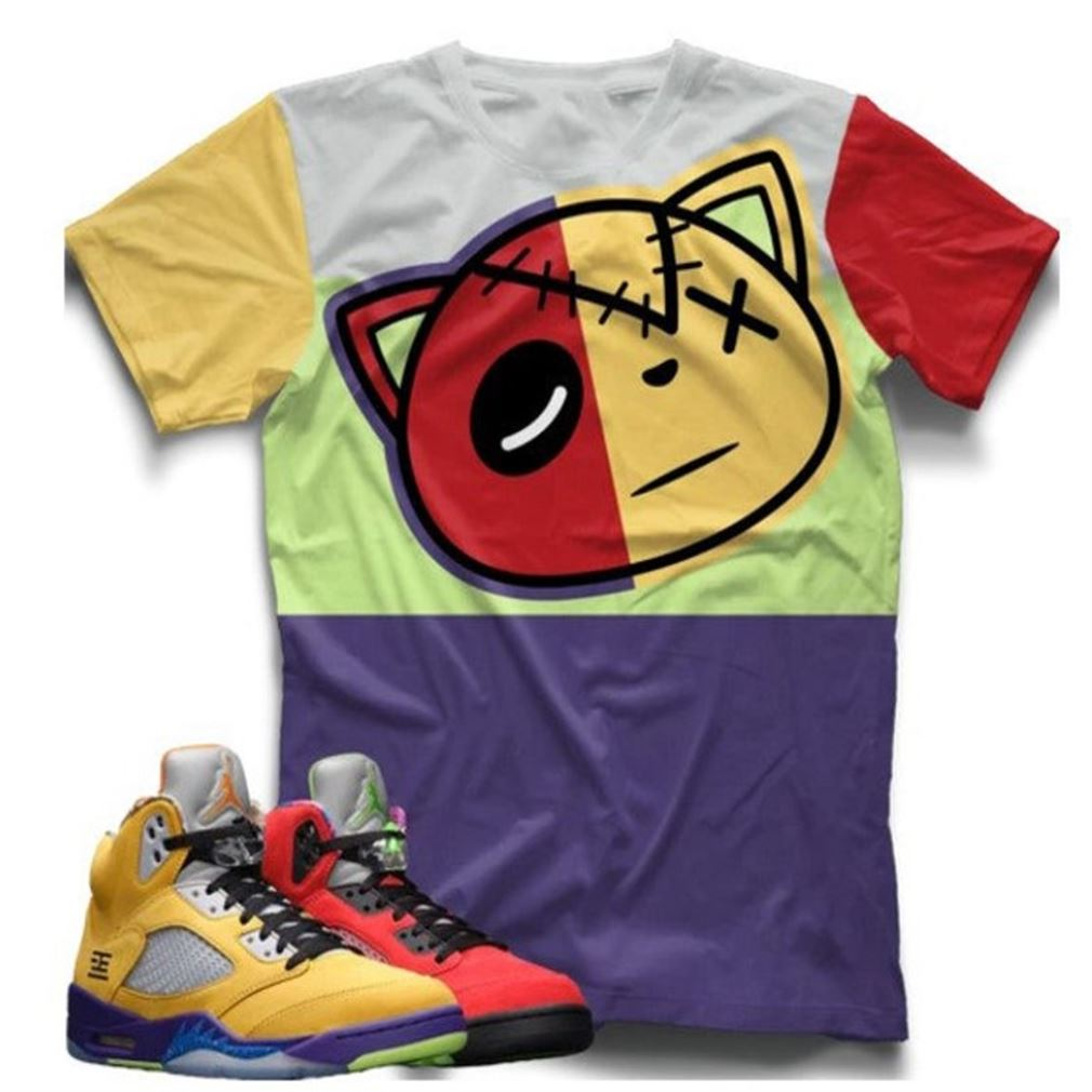 The Bee's Knee T-shrirt Air Jordan 5 Shirt What The Retro 5 T-shirt Nike Sb Dunk Low Pro Ben N Jerry Shoes Match Air Jordan 5 Retro Alternate For Men And Women