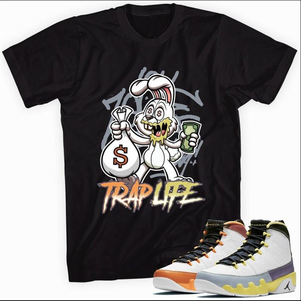 The Bee's Knee T-shrirt Air Jordan 9 Retro Change The World T-shirt - Trap So Beautiful