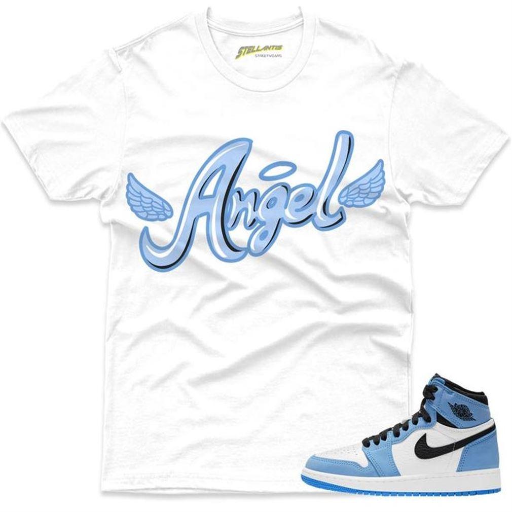 Terrific Angel Shirt Match Jordan 1 Retro High Og University Blue Sneaker Unisex New 2021