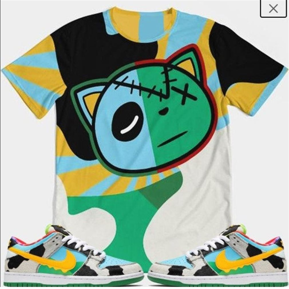 Awesome Tees Ben N Jerry Nike Sb Sneaker T-shirt Matches Sneaker T-shirt Nike Sb Dunk Low Pro Ben N Jerry Hot 2021