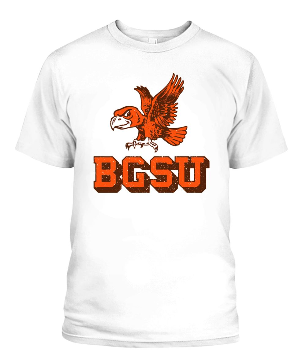 Terrific Bowling Green State University Flying Falcon Shirt So Epic