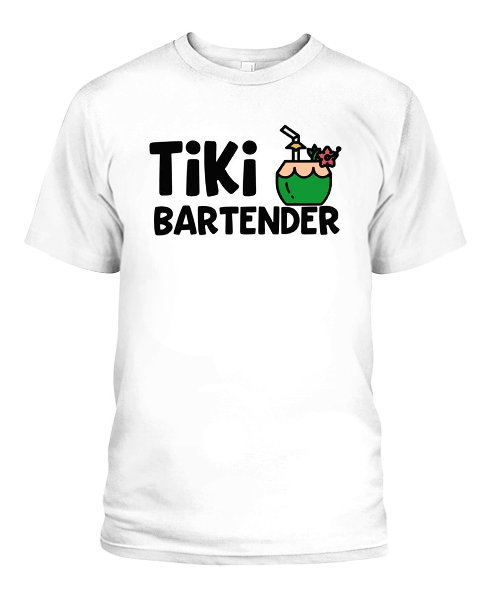 Amazing Tee Coconut Drink Tiki Bartender Shirt So Epic