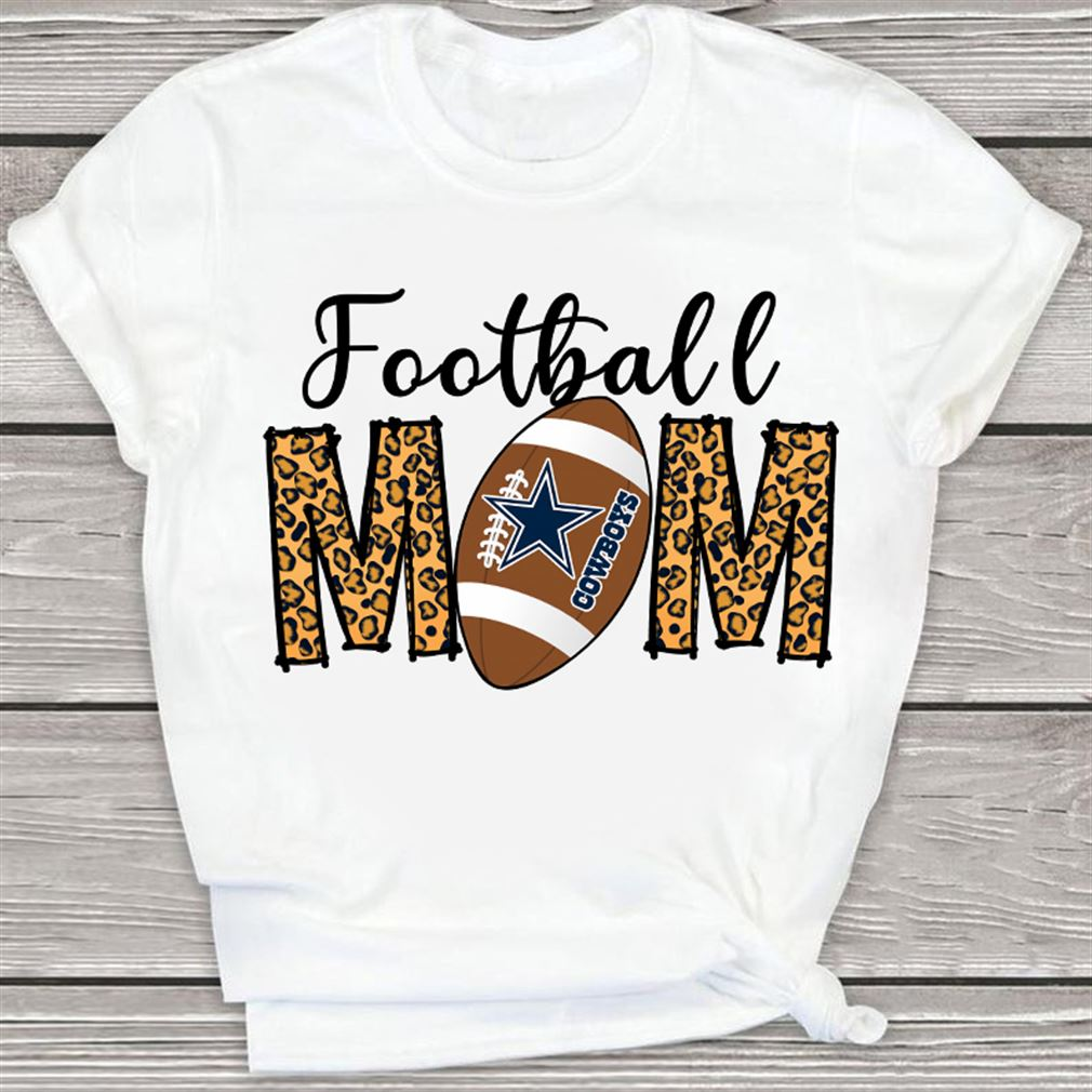 Terrific Dallas Cowboys American Football Football Mom Funny Cute Fun Sport Mama Little League Youth Mommy Womens V-neck New 2021