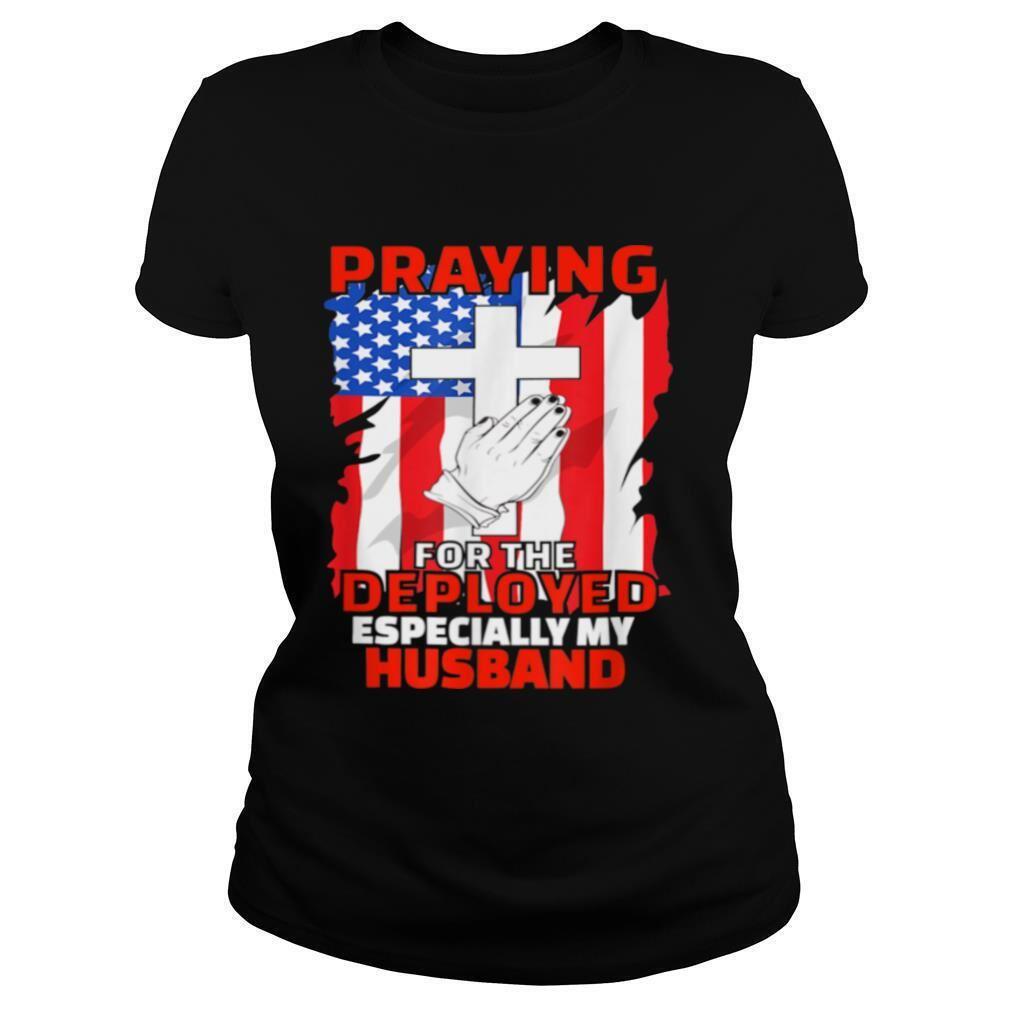 Terrific Deployed Husband American Flag Christian Prayers Marvelous