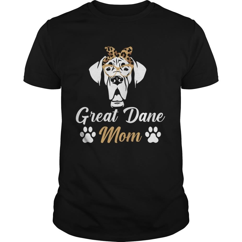 Amazing Tee Dog Mom Mothers Day Great Dane Mama For Men And Women