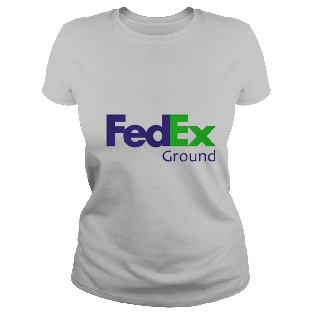 Fedex Ground Logo Blue Green