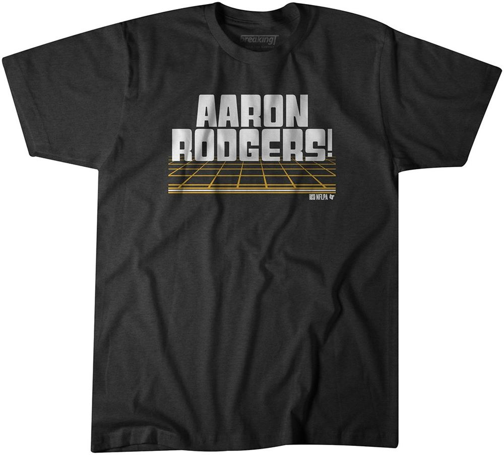 Awesome Tees Guest Host Aaron Rodgers T-shirt So Incredible