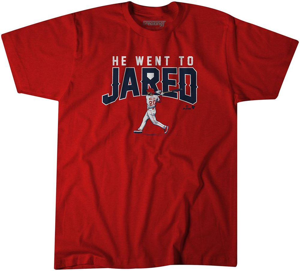 Awesome He Went To Jared T-shirt So Wonderful