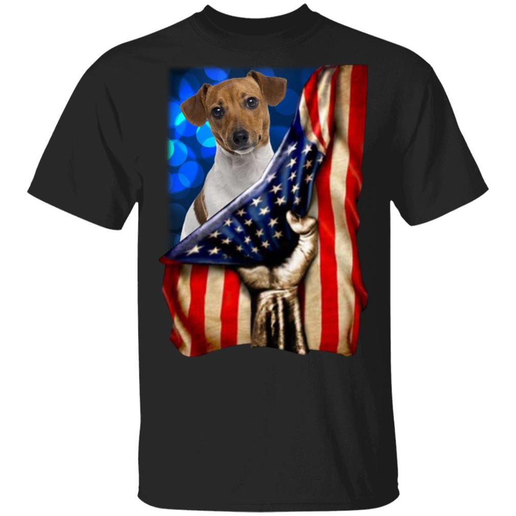 Jack Russell Terrier America 4th Of July Independence