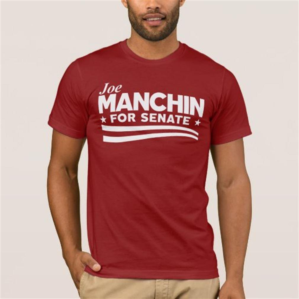 Awesome T-shirt Joe Manchin For Senate Classic T Brilliant T-shirt