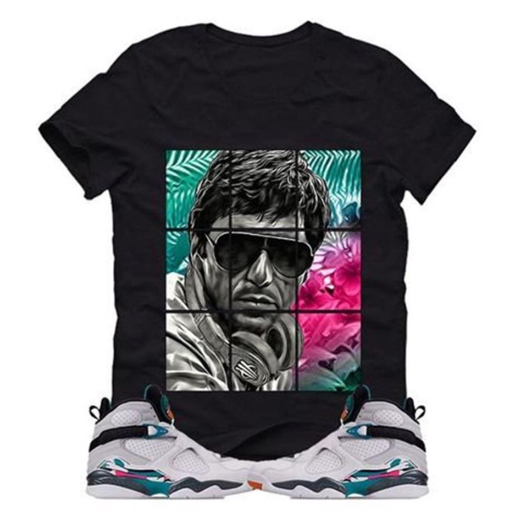 Cool Jordan 8 South Beach Black T So Fabulous