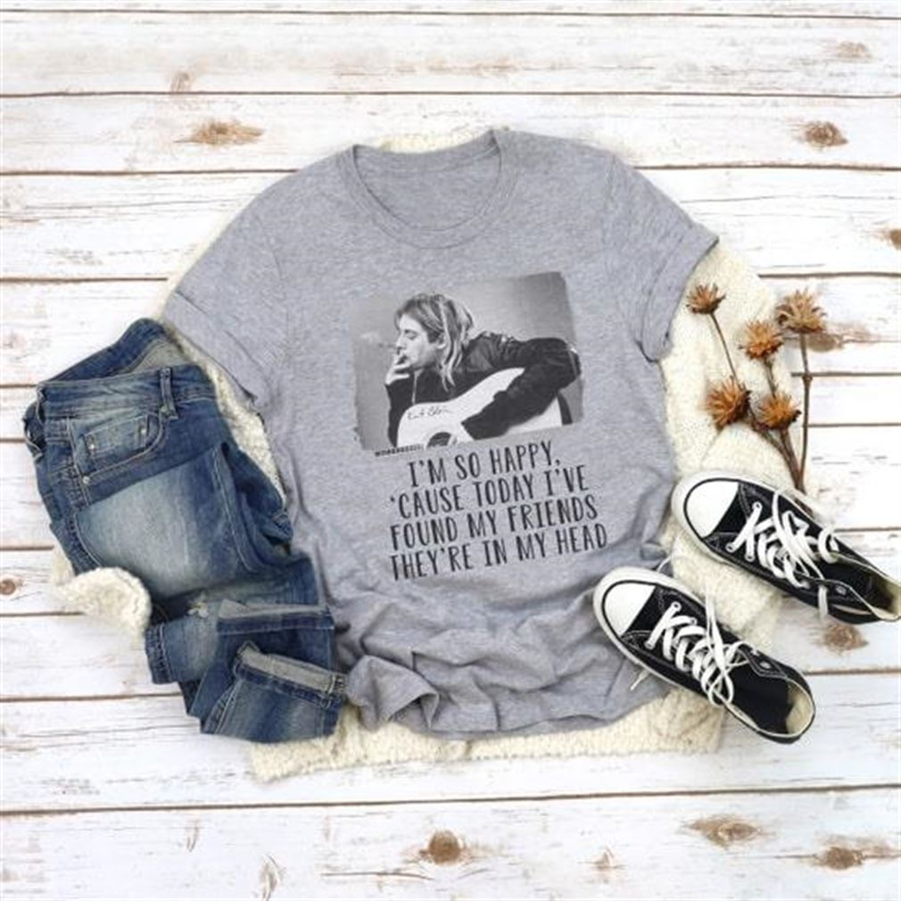 Amazing T-shirt Kurt Cobain Classic T Hot 2021