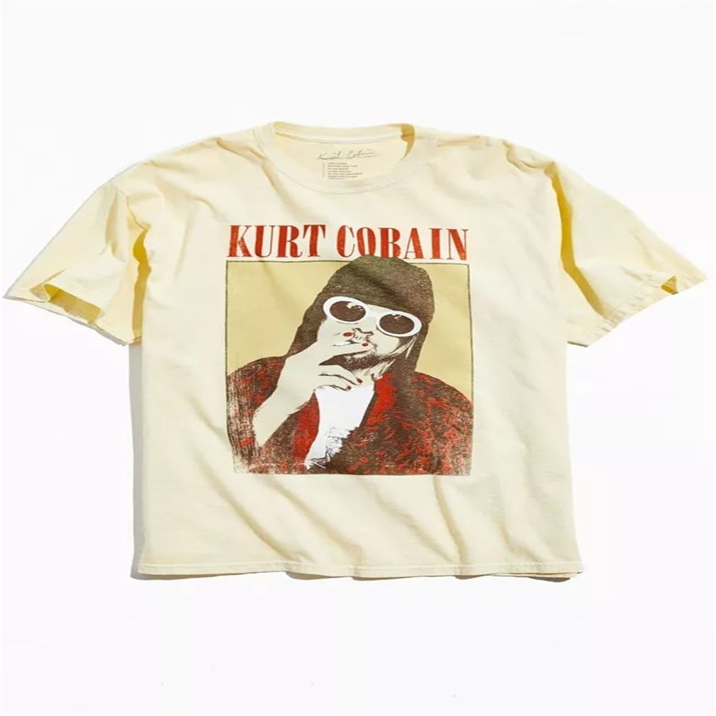 Cool Kurt Cobain Classic Unisex T For Men And Women