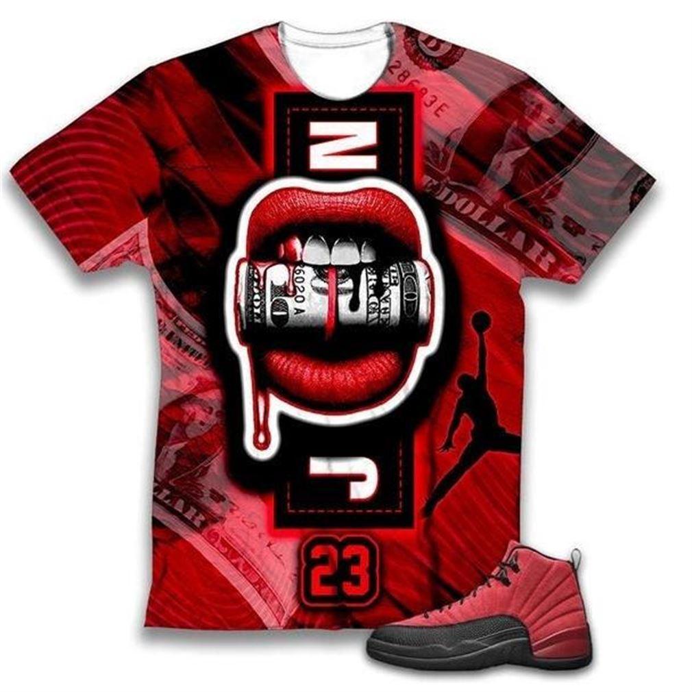 Amazing Lips Money 23 T Shirt Hoodie Sweatshirt 3d Print To Match Air Jordan 3d T Shirt Shirt Air Jordan 100% Cotton