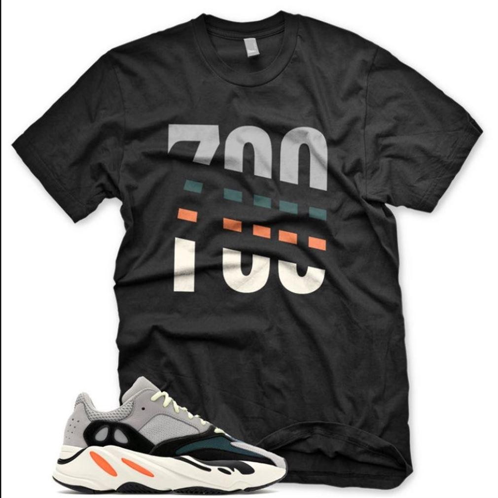 New 700 T Shirt For Adidas Yeezy Boost 700 Wave Runner Sneaker Unisex