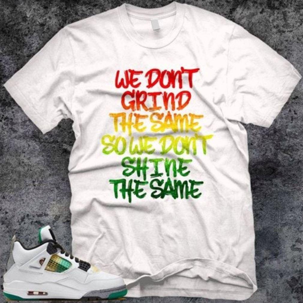 New Air Jordan 4 Lucid Green Rasta Carnival Inspired Grind Different