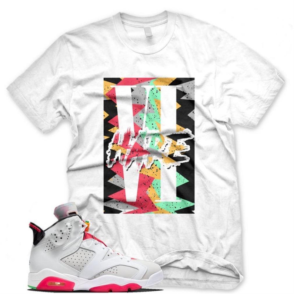 New Hare Vi Sneaker T Shirt For Jordan 6 Hare Vi 2020