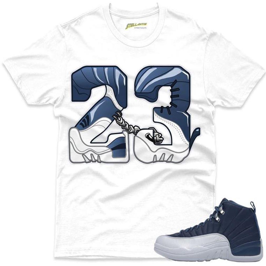 New Number 23 - Air Jordan 12 Retro _quot_indigo_quot_ Sneaker Streetwear Unisex